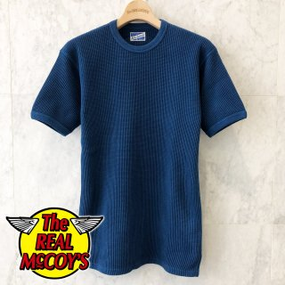 <img class='new_mark_img1' src='https://img.shop-pro.jp/img/new/icons15.gif' style='border:none;display:inline;margin:0px;padding:0px;width:auto;' />TUBE KNIT THERMAL S/S (HAND DYED INDIGO) チューブニットサーマルTシャツ 半袖Tシャツ インディゴ染め