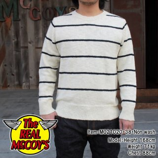 <img class='new_mark_img1' src='https://img.shop-pro.jp/img/new/icons15.gif' style='border:none;display:inline;margin:0px;padding:0px;width:auto;' />COTTON MARINE STRIPE SWEATER コットンニットセーター マリンストライプ