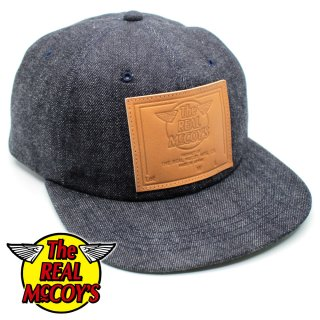 <img class='new_mark_img1' src='https://img.shop-pro.jp/img/new/icons15.gif' style='border:none;display:inline;margin:0px;padding:0px;width:auto;' />RM LEATHER PATCH DENIM BASEBALL CAP デニムキャップ ベースボールキャップ