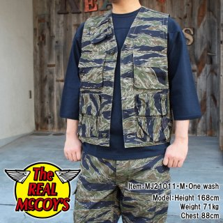 <img class='new_mark_img1' src='https://img.shop-pro.jp/img/new/icons15.gif' style='border:none;display:inline;margin:0px;padding:0px;width:auto;' />【PRE-ORDER】TIGER CAMOUFLAGE VEST / TADPOLE