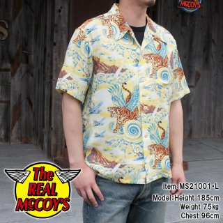 <img class='new_mark_img1' src='https://img.shop-pro.jp/img/new/icons15.gif' style='border:none;display:inline;margin:0px;padding:0px;width:auto;' />【PRE-ORDER】RAYON HAWAIIAN SHIRT / FLYING TIGERS