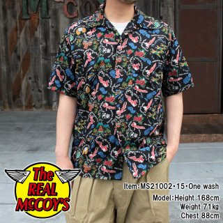 <img class='new_mark_img1' src='https://img.shop-pro.jp/img/new/icons15.gif' style='border:none;display:inline;margin:0px;padding:0px;width:auto;' />【PRE-ORDER】COTTON HAWAIIAN SHIRT / FLYING TIGERS