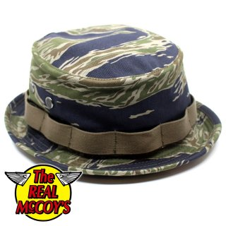 <img class='new_mark_img1' src='https://img.shop-pro.jp/img/new/icons15.gif' style='border:none;display:inline;margin:0px;padding:0px;width:auto;' />TIGER CAMOUFLAGE BOONIE HAT / TADPOLE ブーニーハット バケットハット 迷彩  タイガーストライプ