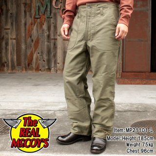 <img class='new_mark_img1' src='https://img.shop-pro.jp/img/new/icons15.gif' style='border:none;display:inline;margin:0px;padding:0px;width:auto;' />U.S.N. A-2 DECK TROUSERS デッキトラウザーズ デッキパンツ ジャングルクロス バイカー