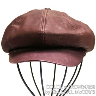<img class='new_mark_img1' src='https://img.shop-pro.jp/img/new/icons15.gif' style='border:none;display:inline;margin:0px;padding:0px;width:auto;' />McCOY SPORTSWEAR LEATHER CASQUETTE DEERSKIN キャスケット