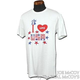<img class='new_mark_img1' src='https://img.shop-pro.jp/img/new/icons28.gif' style='border:none;display:inline;margin:0px;padding:0px;width:auto;' />JOE McCOY TEE / I LOVE USA Tシャツ