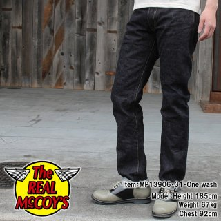 <img class='new_mark_img1' src='http://www.realmccoys-nagoya.co.jp/img/new/icons28.gif' style='border:none;display:inline;margin:0px;padding:0px;width:auto;' />JOE McCOY DENIM PANTS TIGHT STRAIGHT Lot.906S �����ȥ��ȥ졼��