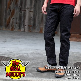 <img class='new_mark_img1' src='http://www.realmccoys-nagoya.co.jp/img/new/icons28.gif' style='border:none;display:inline;margin:0px;padding:0px;width:auto;' />JOE McCOY DENIM PANTS SLIM STRAIGHT Lot.991XH ����ॹ�ȥ졼��