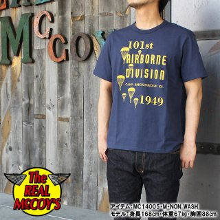 <img class='new_mark_img1' src='https://img.shop-pro.jp/img/new/icons28.gif' style='border:none;display:inline;margin:0px;padding:0px;width:auto;' />McCOY'S MILITARY TEE / 101st AIRBORNE DIV. ミリタリーTシャツ