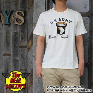 <img class='new_mark_img1' src='https://img.shop-pro.jp/img/new/icons28.gif' style='border:none;display:inline;margin:0px;padding:0px;width:auto;' />McCOY'S MILITARY TEE / AIR ASSAULT ミリタリーTシャツ