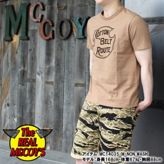 <img class='new_mark_img1' src='https://img.shop-pro.jp/img/new/icons28.gif' style='border:none;display:inline;margin:0px;padding:0px;width:auto;' />JOE McCOY TEE / COTTON BELT ROUTE Tシャツ