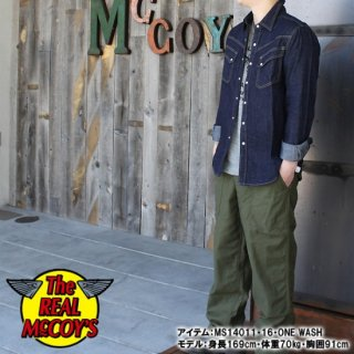 <img class='new_mark_img1' src='https://img.shop-pro.jp/img/new/icons28.gif' style='border:none;display:inline;margin:0px;padding:0px;width:auto;' />JOE McCOY DENIM WESTERN SHIRT Lot.105 ウエスタンシャツ