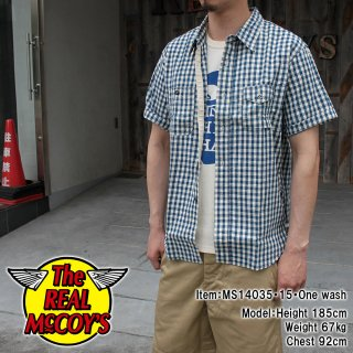 <img class='new_mark_img1' src='https://img.shop-pro.jp/img/new/icons28.gif' style='border:none;display:inline;margin:0px;padding:0px;width:auto;' />8HOUR UNION GINGHAM CHECK SHIRT SHORT SLEEVE Lot.902W ギンガムチェックシャツ