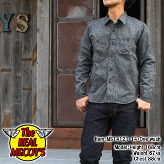 <img class='new_mark_img1' src='http://www.realmccoys-nagoya.co.jp/img/new/icons28.gif' style='border:none;display:inline;margin:0px;padding:0px;width:auto;' />DOUBLE DIAMOND TWIST CHAMBRAY SHIRT �����֥졼�����