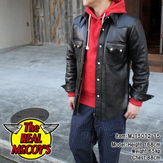 <img class='new_mark_img1' src='https://img.shop-pro.jp/img/new/icons28.gif' style='border:none;display:inline;margin:0px;padding:0px;width:auto;' />JOE McCOY HORSEHIDE LEATHER SHIRT レザーシャツ