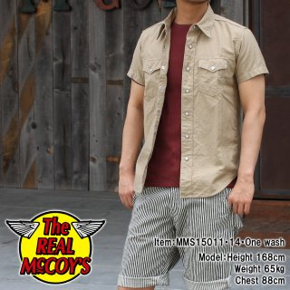 <img class='new_mark_img1' src='https://img.shop-pro.jp/img/new/icons28.gif' style='border:none;display:inline;margin:0px;padding:0px;width:auto;' />JOE McCOY CHINO CLOTH COWBOY SHIRT Lot.203 カウボーイシャツ