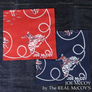 <img class='new_mark_img1' src='https://img.shop-pro.jp/img/new/icons28.gif' style='border:none;display:inline;margin:0px;padding:0px;width:auto;' />JOE McCOY BANDANA / RODEO バンダナ