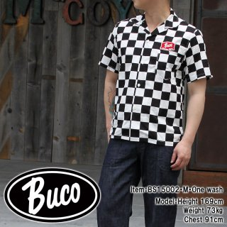 <img class='new_mark_img1' src='https://img.shop-pro.jp/img/new/icons28.gif' style='border:none;display:inline;margin:0px;padding:0px;width:auto;' />BUCO OFFICIAL CHECKER SHIRT オフィシャルシャツ