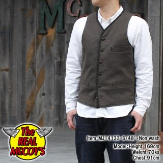 <img class='new_mark_img1' src='http://www.realmccoys-nagoya.co.jp/img/new/icons28.gif' style='border:none;display:inline;margin:0px;padding:0px;width:auto;' />PIQUE WORK VEST ����٥���