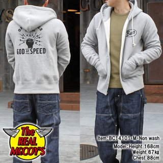 <img class='new_mark_img1' src='https://img.shop-pro.jp/img/new/icons28.gif' style='border:none;display:inline;margin:0px;padding:0px;width:auto;' />BUCO HOODED SWEATSHIRT / GOD OF SPEED フルジップスウェットパーカ