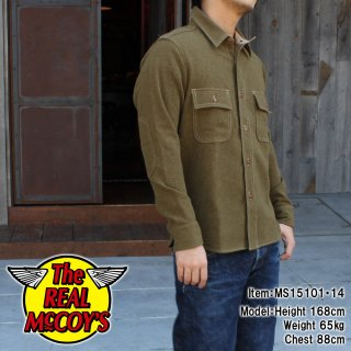 <img class='new_mark_img1' src='http://www.realmccoys-nagoya.co.jp/img/new/icons28.gif' style='border:none;display:inline;margin:0px;padding:0px;width:auto;' />OD WOOL SHIRT �����륷���