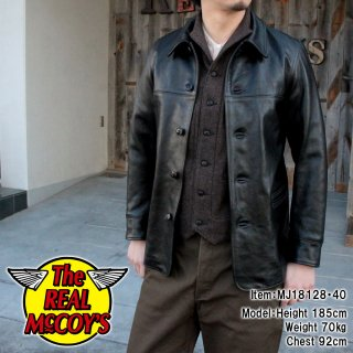 <img class='new_mark_img1' src='http://www.realmccoys-nagoya.co.jp/img/new/icons28.gif' style='border:none;display:inline;margin:0px;padding:0px;width:auto;' />JOE McCOY LEATHER CAR COAT �쥶������������