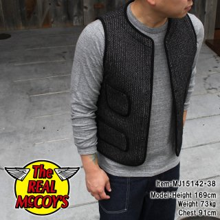 <img class='new_mark_img1' src='http://www.realmccoys-nagoya.co.jp/img/new/icons15.gif' style='border:none;display:inline;margin:0px;padding:0px;width:auto;' />McCOY SPORTSWEAR WOOL RASCHEL VEST �������å���٥���