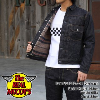<img class='new_mark_img1' src='http://www.realmccoys-nagoya.co.jp/img/new/icons28.gif' style='border:none;display:inline;margin:0px;padding:0px;width:auto;' />REAL McCOY'S DENIM JACKET Lot.002LJ �ǥ˥ॸ�㥱�å�