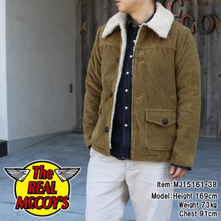 <img class='new_mark_img1' src='http://www.realmccoys-nagoya.co.jp/img/new/icons28.gif' style='border:none;display:inline;margin:0px;padding:0px;width:auto;' />JOE McCOY CORDUROY RANCH JACKET �������㥱�å�