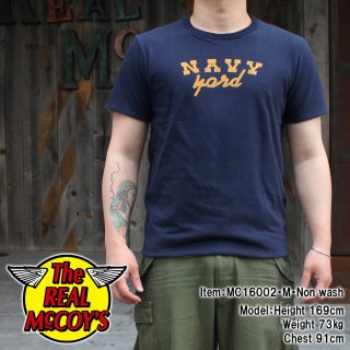 <img class='new_mark_img1' src='http://www.realmccoys-nagoya.co.jp/img/new/icons15.gif' style='border:none;display:inline;margin:0px;padding:0px;width:auto;' />REVERSIBLE TEE / NAVY YARD T�����