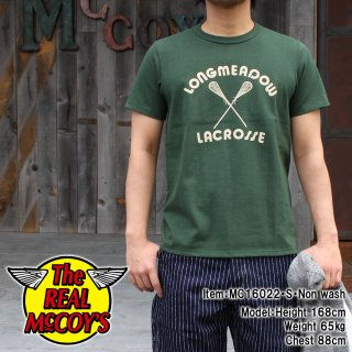 <img class='new_mark_img1' src='http://www.realmccoys-nagoya.co.jp/img/new/icons15.gif' style='border:none;display:inline;margin:0px;padding:0px;width:auto;' />JOE McCOY TEE / LACROSSE T�����