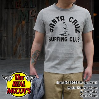 <img class='new_mark_img1' src='http://www.realmccoys-nagoya.co.jp/img/new/icons15.gif' style='border:none;display:inline;margin:0px;padding:0px;width:auto;' />JOE McCOY TEE / SANTA CRUZ T�����