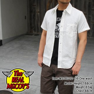 <img class='new_mark_img1' src='http://www.realmccoys-nagoya.co.jp/img/new/icons15.gif' style='border:none;display:inline;margin:0px;padding:0px;width:auto;' />JOE McCOY REGULAR COLLAR SHIRT S/S �쥮��顼���顽�����