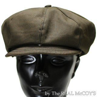 <img class='new_mark_img1' src='https://img.shop-pro.jp/img/new/icons15.gif' style='border:none;display:inline;margin:0px;padding:0px;width:auto;' />DOUBLE DIAMOND HOUNDSTOOTH CASQUETTE ハウンドトゥースキャスケット