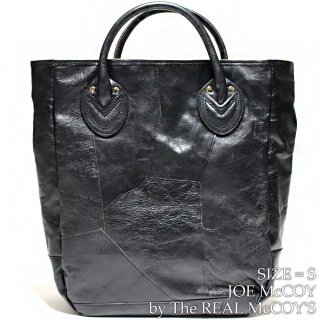 <img class='new_mark_img1' src='https://img.shop-pro.jp/img/new/icons15.gif' style='border:none;display:inline;margin:0px;padding:0px;width:auto;' />JOE McCOY LEATHER TOTE BAG / PATCH WORK レザートートバッグ