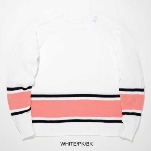 LINE-SOX   CREW NECK KNIT