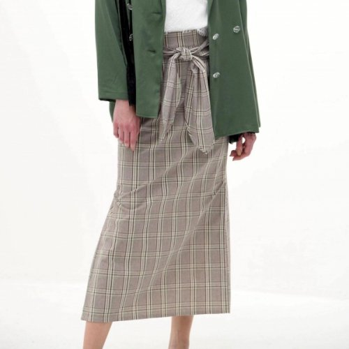 《 60%OFF 》SIDE PLEATS SKIRT