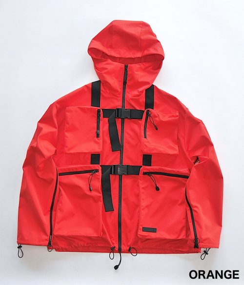 BODY BAG BLOUSON_ORANGE_