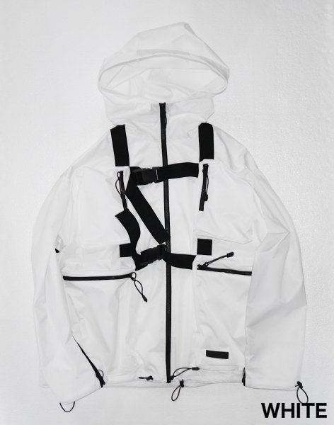 BODY BAG BLOUSON_WHITE_
