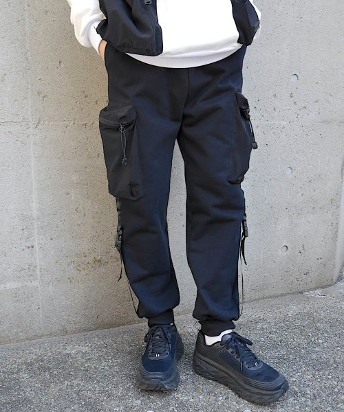 BODY BAG  SWEAT PANT_ BLACK_