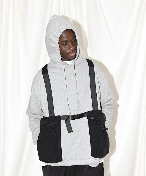 BODY BAG HOODIE  SWEAT_GRAY_