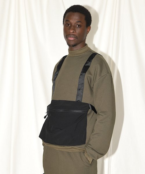 BODY BAG MOCK NECK  SWEAT_KHAKI_