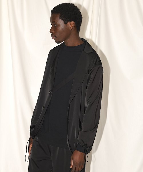 PATCH  POCKET JACKET_BLACK_