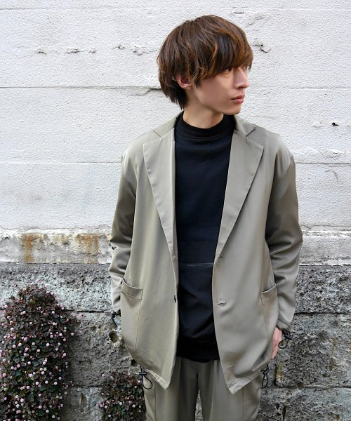 PATCH  POCKET JACKET_KHAKI_