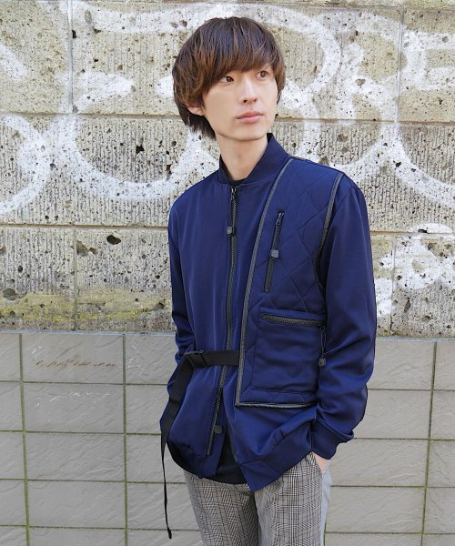 HOLSTER BAG BLOUSON_NAVY_