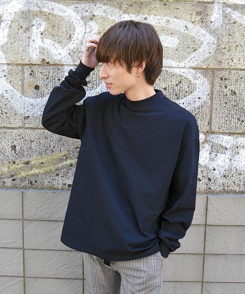 BIG LONG T-SHIRT_BLACK/BLACK_