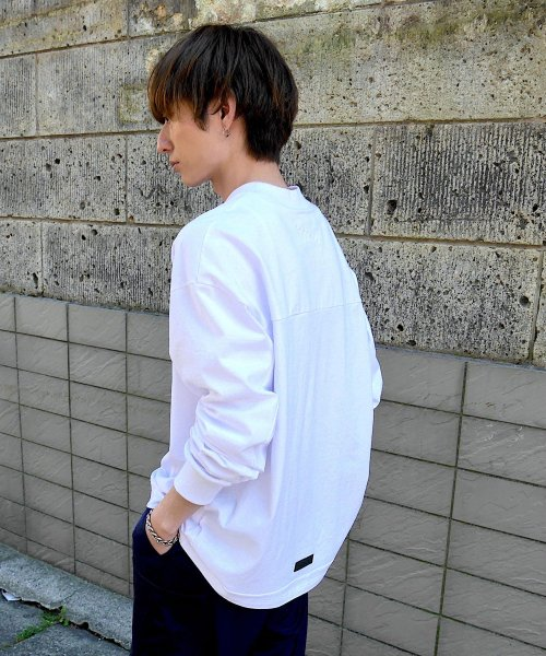 BIG LONG T-SHIRT_WHITE/WHITE_