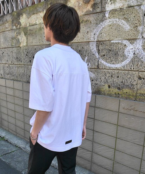 BIG T-SHIRT_WHITE/WHITE_