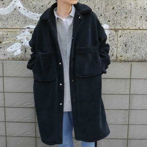 BOA BIG COAT_BLACK_