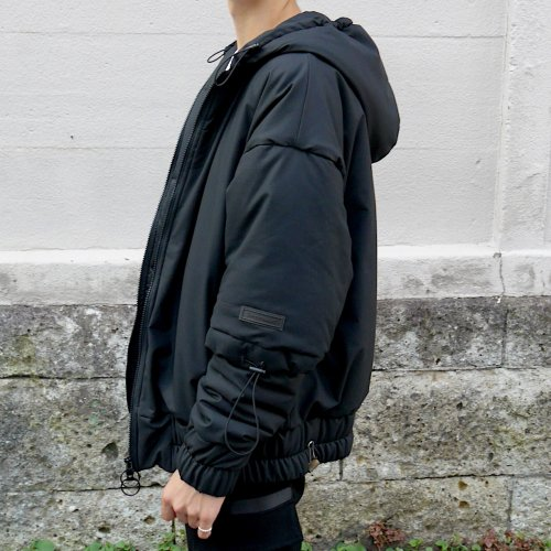 INNER COTTON HOODIE_FAKE BLACK_